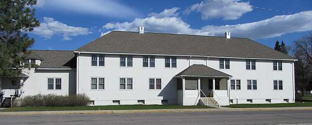 Fort Missoula's Post Headquarters