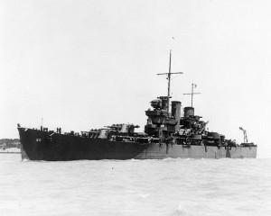 USS Helena CL-50