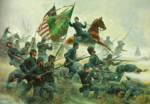 The Irish Brigade at Antietam